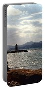 Fisherman In Nice France Portable Battery Charger