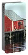 Fishermans House On Peggys Cove Portable Battery Charger