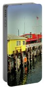 Fishermans Wharf Monterey Ca Portable Battery Charger