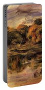Fishermen By A Lake Portable Battery Charger