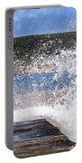 Fishing Beyond The Surf Portable Battery Charger by Terri Waters