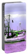 Fishing Boats At Pearl Beach 1.0 Portable Battery Charger