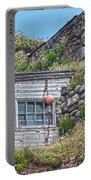 Fishing Huts Cape Cornwall Portable Battery Charger