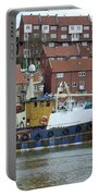 Fishing Trawler - Whitby Portable Battery Charger
