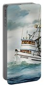 Fishing Vessel Devotion Portable Battery Charger