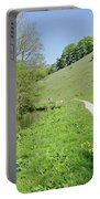 Fishpond Bank At Wolfscote Dale Portable Battery Charger