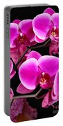 Five Orchids  Portable Battery Charger