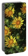 Five Yellow Flowers  Portable Battery Charger