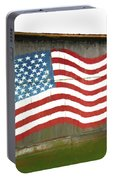 Flag And Barn - Painting Portable Battery Charger