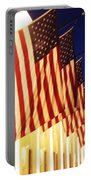 Flag Congress Hall Cape May Nj Portable Battery Charger