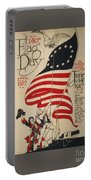 Flag Day 1917 Portable Battery Charger