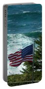 Flag Flying Portable Battery Charger