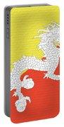 Flag Of Bhutan Wall Portable Battery Charger
