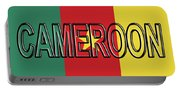 Flag Of Cameroon Word. Portable Battery Charger