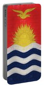 Flag Of Kiribati Wall Portable Battery Charger