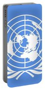 Flag Of The United Nations Portable Battery Charger