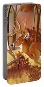 Flagging Deer Portable Battery Charger