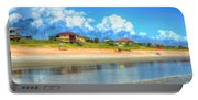 Flagler Beach Morning Portable Battery Charger