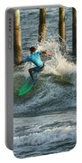 Flagler Beach Surf Day Portable Battery Charger