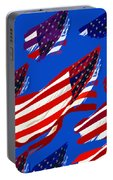 Flags American Portable Battery Charger