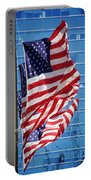 Flags Flying Portable Battery Charger