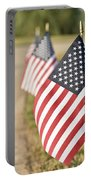 Flags Line Up Portable Battery Charger