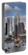 Flags Of Gasparilla Portable Battery Charger