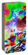 Flamboyant Cloudscape Portable Battery Charger