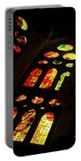 Flamboyant Stained Glass Window Portable Battery Charger