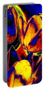 Flamboyant Tulips Portable Battery Charger