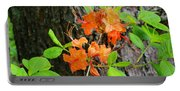 Flame Azaleas Portable Battery Charger