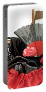 Flamenco Clothing Horizontally Portable Battery Charger
