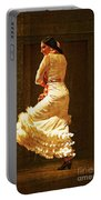 Flamenco Dancer #20 - The White Dress Portable Battery Charger