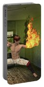 Flames Of Desire Portable Battery Charger