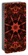 Flaming Catherine Wheel Portable Battery Charger