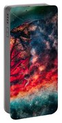 Flaming Fall Color Portable Battery Charger