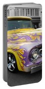 Flaming Hot Rod Portable Battery Charger