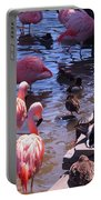 Flamingo Family  Portable Battery Charger