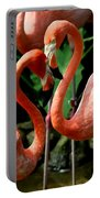 Flamingo Heart Portable Battery Charger