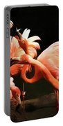 Flamingo Kisses Portable Battery Charger