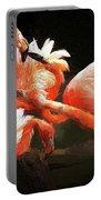Flamingo Mingles Portable Battery Charger