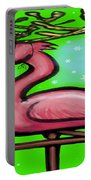 Flamingo Reindeer Portable Battery Charger