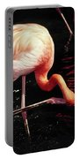 Flamingo Scratching Head Portable Battery Charger