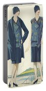 Flappers In Frocks And Coats, 1928  Portable Battery Charger