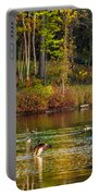 Flapping For Fall Portable Battery Charger