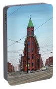 Flatiron Building 1955 Portable Battery Charger