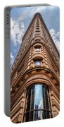 Flatiron Building Nyc Color Portable Battery Charger