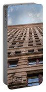 Flatiron Building Sky Color Portable Battery Charger