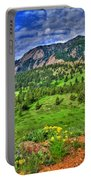 Flatirons And Clouds Portable Battery Charger
