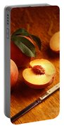 Flavorcrest Peaches Portable Battery Charger